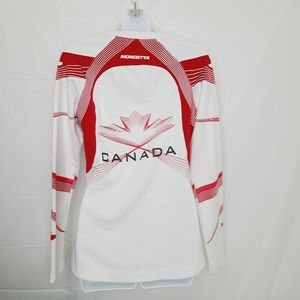 Mondetta Team Canada Long Sleeve Track Top